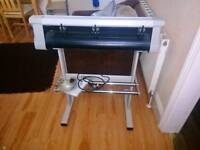 Cutter plotter with wire and soft