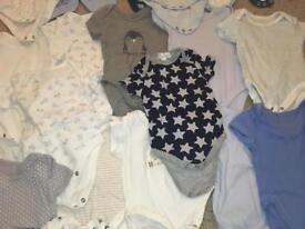 SOLD     Baby boy clothing bundle   newborn - 3-6