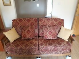 Setee - 3 seater- reduced - grab a bargain. - British hand made, not from China