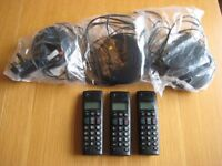 BT Graphite 2500 3 piece phone