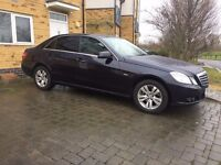 PCO Mercedes E Class 2011 FOR HIRE/RENT UBER READY £160