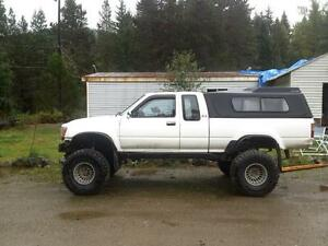 90 Toyota with chev 350 solid axle