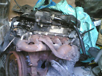 ford transit 2.4 tdci complete cylinder head with turbo 2009