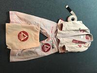 Gracie Barra Pro Lite Aero Gi size A1 with belt size A0 + free bag = £80