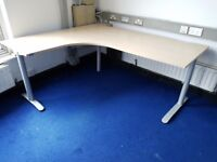 maple managers office desks 1800 mm