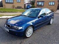 BMW 3 series .. E46 facelift .. 320d diesel .. 6 speed manual ..