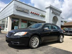 2013 Chrysler 200 LIMITED,LEATHER,ALLOYS,V6,SUNROOF