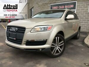 2007 Audi Q7 PREMIUM LEATHER, NAVIGATION, PANO SUNROOF, ALLOY,
