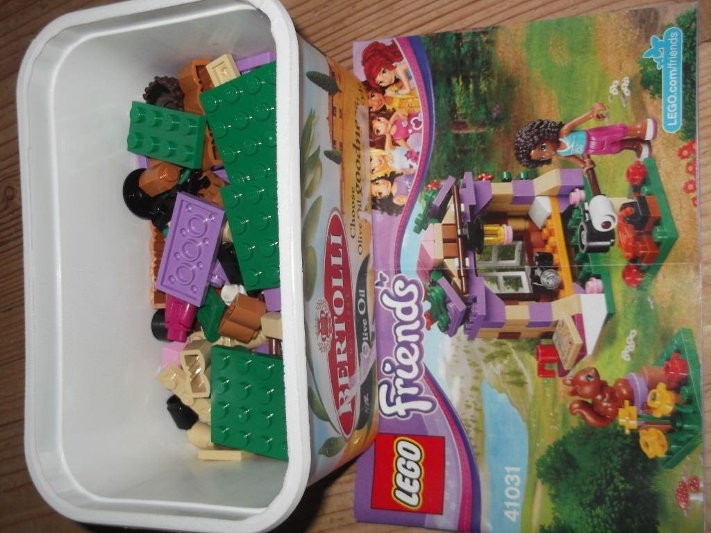 LEGO FRIENDS 41031 ANDREAS MOUNTAIN HUT