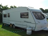SWIFT ACE SUNSTAR SUPREME - 6 BERTH - 26FT TOURING CARAVAN 2005/6 - TWIN AXLE