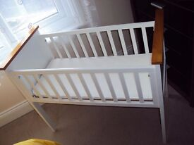 Mothercare crib with mattress