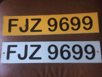FJZ 9699 private reg ready to transfer make someones christmas