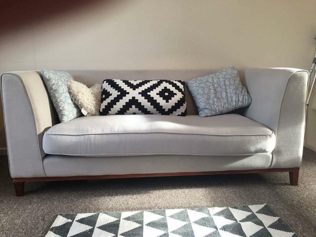 Small three seater sofa