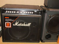 Marshall MB60. bass combo Amplifier. 12 inch 60 watts.