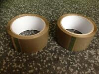 ROLLS OF BROWN PACKING/PARCEL TAPE 48mm x 66M for sale  Shrewsbury, Shropshire