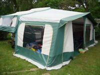 Folding camper Pennine Pullman 535 - 6 berth