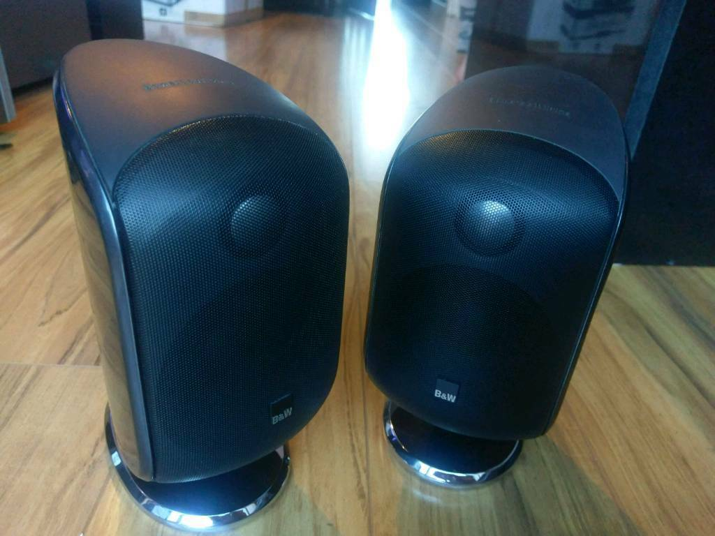 B&W M1 Bowers and Wilkins home cinema stereo speakers