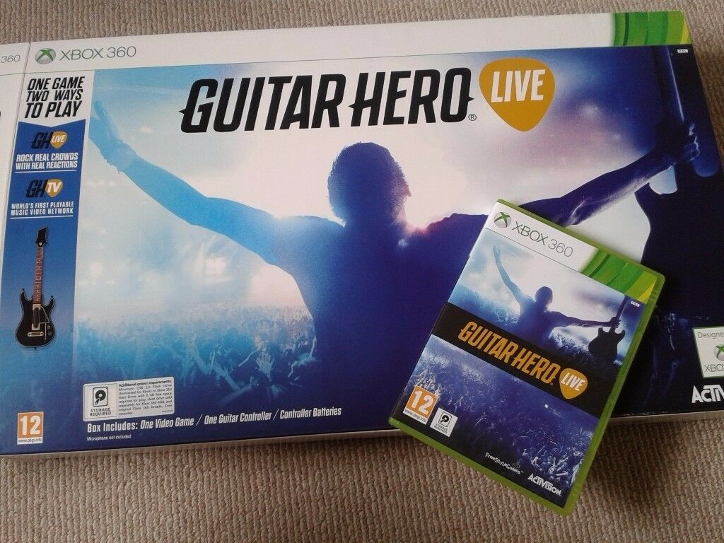 Guitar Hero for Xbox 360 - brand new in the box