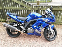Suzuki SV650s K5, 2005 (55) with full fairings