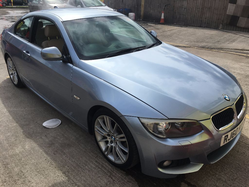 bmw 320d coupe 2011 lci m sport with heated seats idrive of extras cheapest online. Black Bedroom Furniture Sets. Home Design Ideas