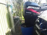 Mercury 90hp four stroke long shaft outboard motor