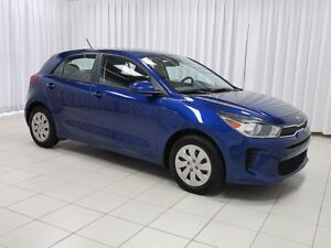 2018 Kia Rio 5DR HATCH w/ HEATED FRONT SEATS, HEATED STEERING W