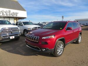 2014 Jeep Cherokee LIMITED ADAPTIVE CRUISE! COOLED LEATHER SEATS