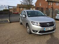 Dacia Sandero Laureate 0.9 TCE 65 Reg Damaged Unrecorded HPI CLEAR