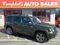 2008 Jeep Patriot SPORT 4X4 V6 SUNROOF!! CRUISE ALLOYS PW PL NEW