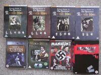 5 UK action/adventure boxsets - Robin Hood, Manhunt, Dick Turpin, Sir Francis Drake, Ultimate Force