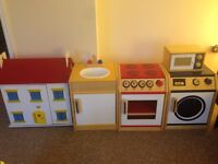 Kids Kitchen Playset & the Doll House