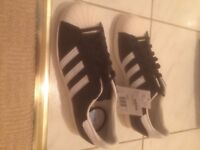 Adidas Originals SUPERSTAR 80s - uk size 9 (BRAND NEW)