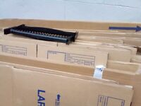 Assorted packing boxes