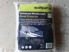 Universal car windscreen & side windows frost protector