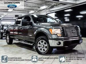 2012 Ford F-150 XLT 4x4 EcoBoost, Bluetooth, Low Mileage