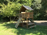 Creative Playthings Wooden Climbing Frame