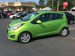 2015 CHEVROLET SPARK 1LT CVT- ALLOY WHEELS, BLUETOOTH, CRUISE CO