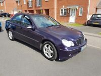 2002 MERCEDES BENZ C220 DIESEL AUTOMATIC £798 NO OFFERS OR SWAP NO PENNLESS MASSGES CALL 02475119527