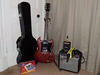 Gibson SG Cherry 2009 plus kit
