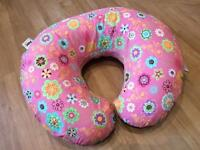 Chicco Boppy Pillow with Cotton Slip Cover - Never Used