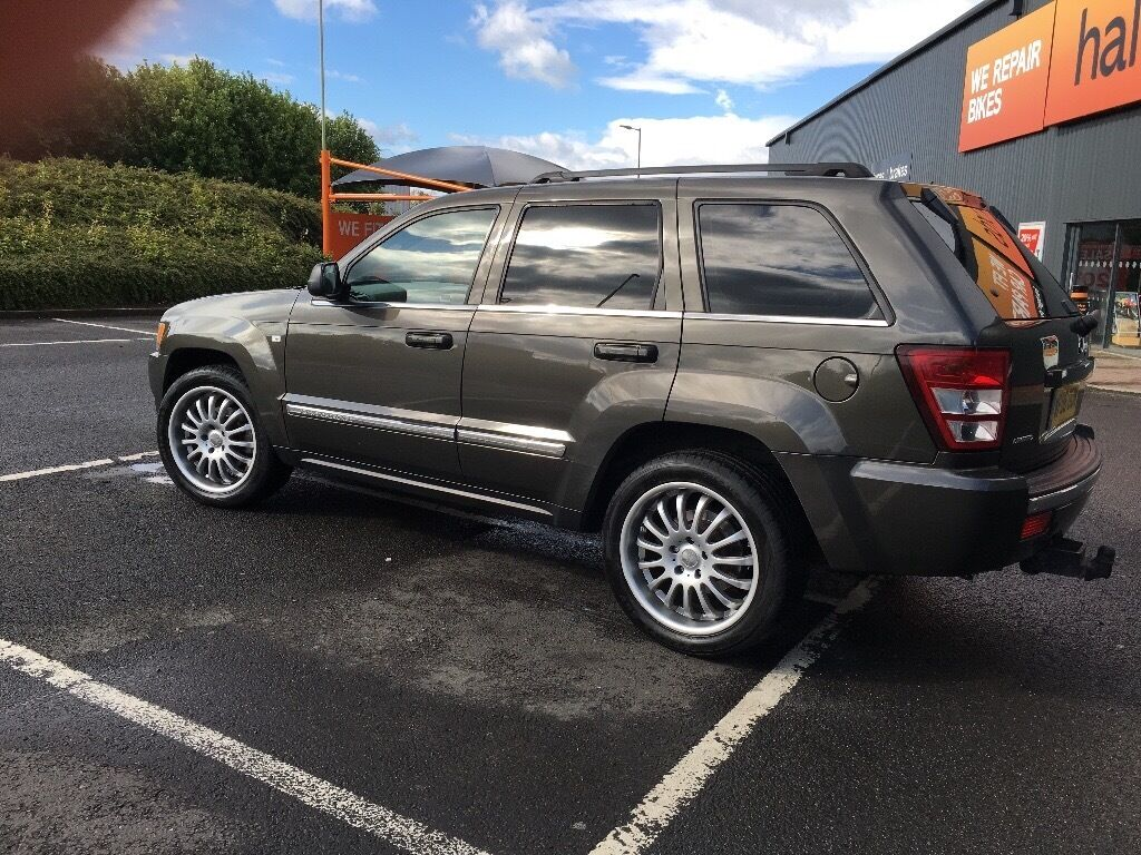 77346f8df6 2006 Jeep Grand Cherokee 3.0 CRD V6 Limited Station Wagon 5dr 4x4 may swap  px