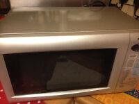 microwave 800w silver