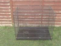 DOG CAGES SMALL £12 MEDIUM £20 AND LARGE £25 ALL WITH TRAYS