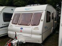 2003 Bailey Ranger 500 5 Berth Family Caravan with Motor Mover
