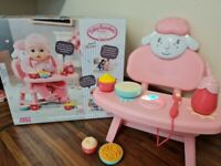 Baby Annabell Walker & Lunch time chair