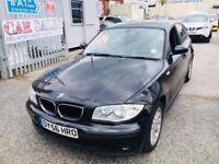 BMW 116 I ES PETROL MANUAL 1.6 5 DOORS BLACK 2006