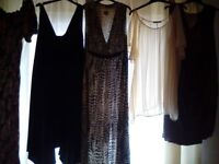 Womens dresses and tops size large