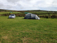 Camping / Campsite at Morvah nr St Ives