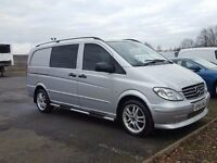 2010-60 plate brabus powered mercedes 204x sport dualiner dsl auto van final price plus vat