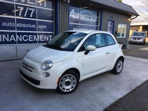 2014 Fiat 500 Pop + Automatique